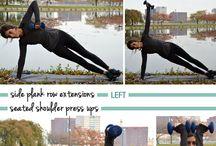 Ćwiczenia brzucha i klatki piersiowej