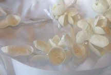 silk cocoons for  Wedding and Baptism / hand made creations from silk cocoons for wedding and baptism