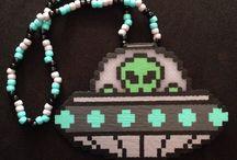 Hama ожерелье