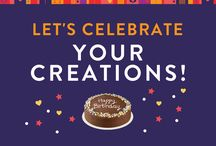 Let's Celebrate! / We love seeing your creations with our Gluten & Dairy Free Let's Celebrate Chocolate Cake Kit!