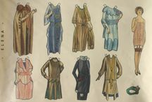 Flappers/ Jazz Age / Art Deco Paper Dolls