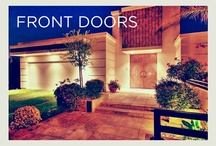Front Doors (Home Elements) / Whether bold, elegant, or simply stunning; every home welcomes you through them. From the Bay Area and beyond, here is a look at the finest front doors from Alain Pinel Realtors.
