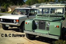 Land Rover Restorations / Our current inventory of classic Rovers.