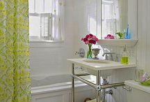 Det lille badeværelse / Nyindretning af lille badeværelse