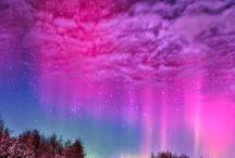 růžové oblaky