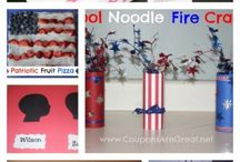 4th of July And Other Patriotic Holidays / Easy patriotic recipes, DIY patriotic decorations, and patriotic activities for kids and families. Perfect for 4th of July, memorial day and any other patriotic holiday that needs red white and blue!