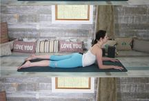 yoga upper back opener