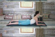yoga upper back opener