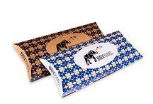 Kissenverpackung L / Kissenverpackung L vom Verpackungsshop Boxximo. Individuelle Kissenverpackungen & Schmuckverpackungen ab Auflage 1 Stück jetzt bei www.boxximo.de - Ihrem Verpackungsprofi im Internet.