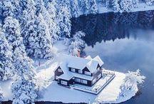 Дома в красивых местах