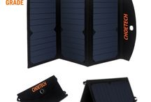 Best Solar Charger-Sun power Collection / CHOETECH's Portable dual USB Solar Charger that keeps your devices fully charged, no matter where you are!