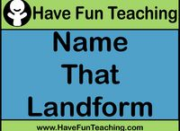 Landform Lessons