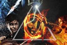 Harry Potter  Percy Jackson, Divergente, Jogos Vorazes / Sou Semideusa, Bruxa, Divergente :D
