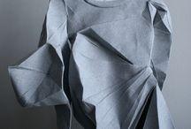 abiti in 3D Origami