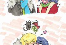 Miraculous cute comics