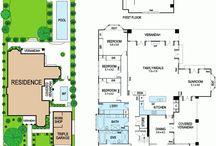 Floor plans / by Ampersand Design