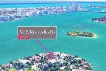 FOR SALE ~ 31 E Rivo Alto Drive / PRIME VENETIAN ISLANDS SOUTHEAST CORNER PIE-SHAPED LOT WITH 107 FEET OF WIDE OPEN BAY VIEWS & 13,382 SF OF LAND! Build your Dream Home with Sun-Drenched Lit Rooms & Ocean Breezes all Year Round. Swim in a magnificent old Florida Pool while your yacht is docked in the most sold 500 SF Concrete Dock with New Seawall that one can find...this comes grandfathered in with the Property. Art Deco home with Renovated Kitchen. | $8,495,000.