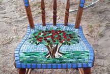 Mosaïek chair