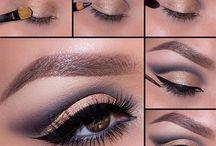 Oczy makijaż