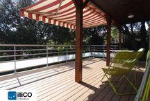 Rénovation et agrandissement d'une terrasse – MONTPELLIER (34) / L'agence illiCO travaux de Montpellier a pris en charge ce projet de rénovation et d'agrandissement d'une terrasse à Montpellier, dans le département de l'Hérault.