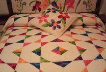 colchas en patchwork