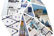 F R A G M E N T S / fragments de tapis berberes et de voyage à partir des photos de Caroline Gayral.  Photographie : Caroline Gayral Graphisme : Lea Ruellan