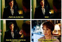 Sherlock / heard about it for 3 seconds... immediatelly become a fan SHERLOCKIANS Thanks Gwen!!