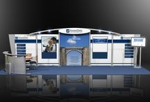 10x30 trade show booth design ideas / Make an impact at your next trade show with a 10x30 trade show booth. At Exponents, we have a large selection of 10x30 trade show displays, booths and exhibits.
