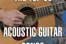 How to play acustic rock songs