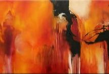 Artist - Isabelle Zacker-Finet  / Abstract art