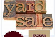Yard Sale / by Crystal Netherland (Darby)