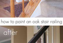Refinishing railings
