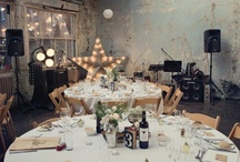 Garage, warehouse wedding