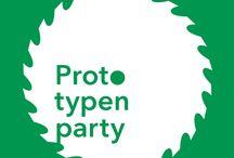"""Prototypenparty / Prototypenparty ist ein """"meet-up and test-it""""-Format von Mario Leupold, Dörte Roloff und Gunnar Spellmeyer."""