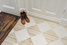 la maison ♥ entryway / functional, welcoming, with some bold statement