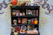 Halloween miniature
