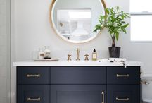 cottage place powder room