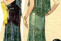 XX dentelles des annees 1920 / 20th laces 1920s koronkowe suknie lata 20.
