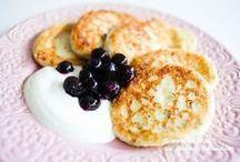 Healthy snacks and breakfast