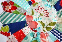 Drážďanský talíř patchwork