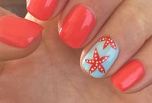 Nails Art Beach Vacation