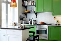 Go Green / Discover new ways to implement the colour green in your home design. This board gathers the very best in green - including home decor, products, design ideas and inspiration
