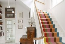 Stair carpets/boards