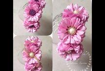 Flores/Tiaras infantis