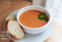 Recipes ~ Soups & Crockpot