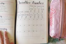 Bullet Journals / The Bullet Journal is a customizable and forgiving organization system. It can be your to-do list, sketchbook, notebook, and diary, but most likely, it will be all of the above. It will teach you to do more with less. © bulletjournal.com