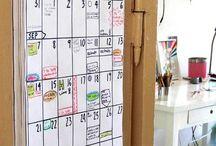 Organize your life / Kalender, Projektplan, Timer