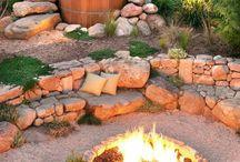 Gartengestaltung / Feuerstelle