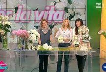 Flavia Bruni - Rai1 - Mezzogiorno Italiano - Tutorial Bouquet da Sposa