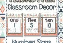 Classroom - Tribal